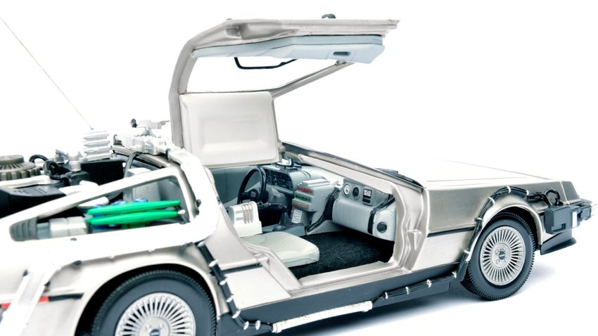back to the future delorean mit 1 tb. Black Bedroom Furniture Sets. Home Design Ideas